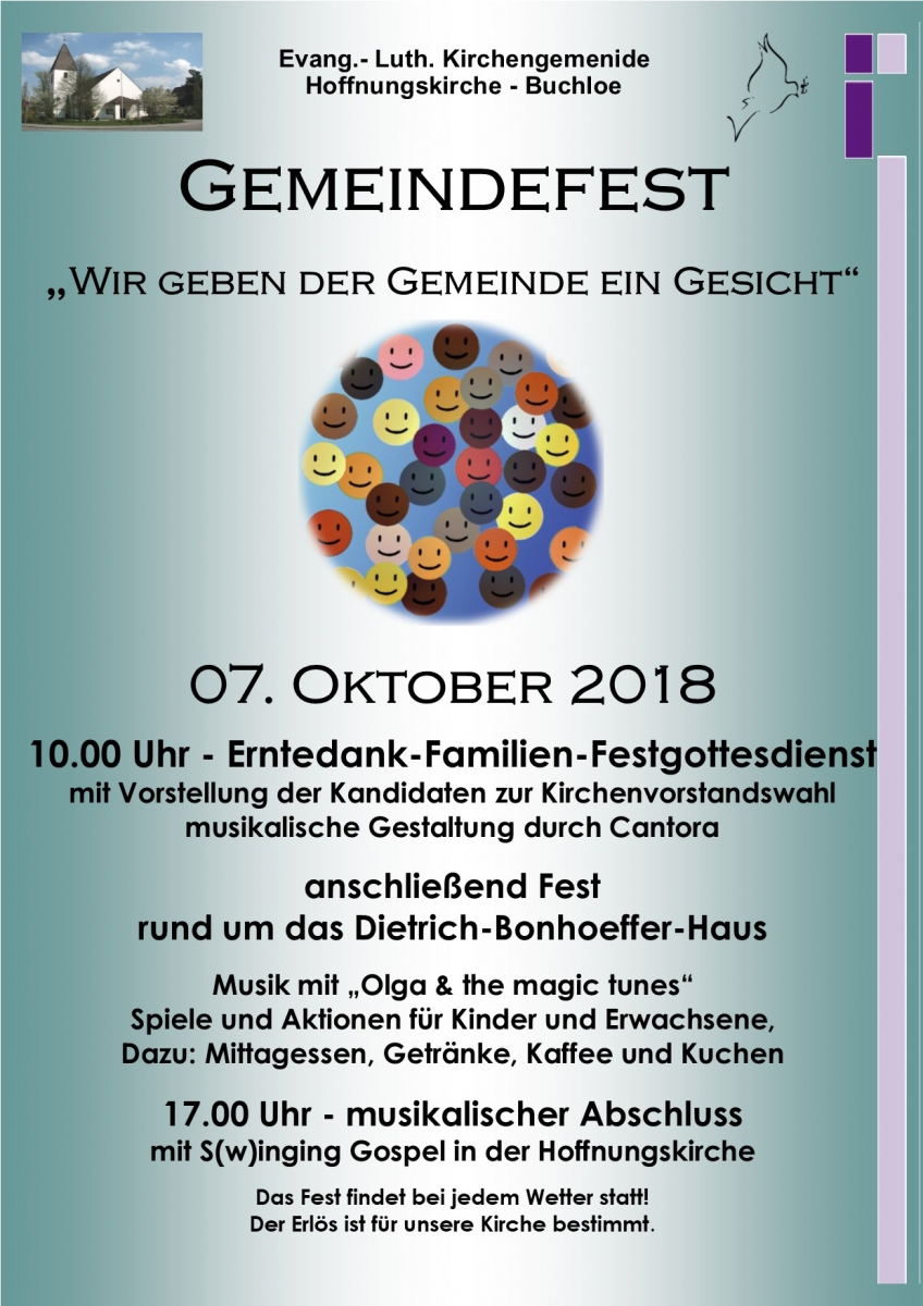 Gemeindefest | Evang.-Luth. Kirchengemeinde Buchloe